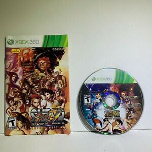 Super-Street-Fighter-IV-Arcade-Edition-Microsoft-Xbox-360-2011-Disc-Manual