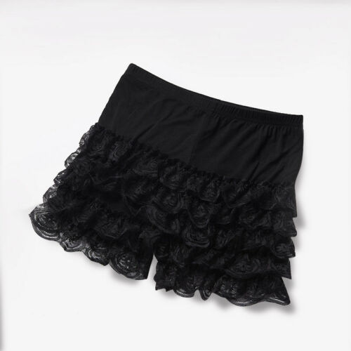 Ladies Lace Ruffles Shorts Lolita Knickers Panties Underpants Underwear Oversize