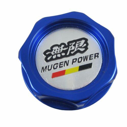 For Honda Acura CivicBlue Engine Oil Filler Cap Tank Cover Mugen Aluminum