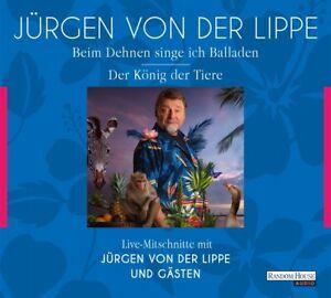 DER-KONIG-DER-TIERE-amp-BEIM-DEHNEN-SINGE-ICH-BALLADEN-JURGEN-V-D-LIPPE-4-CD-NEU