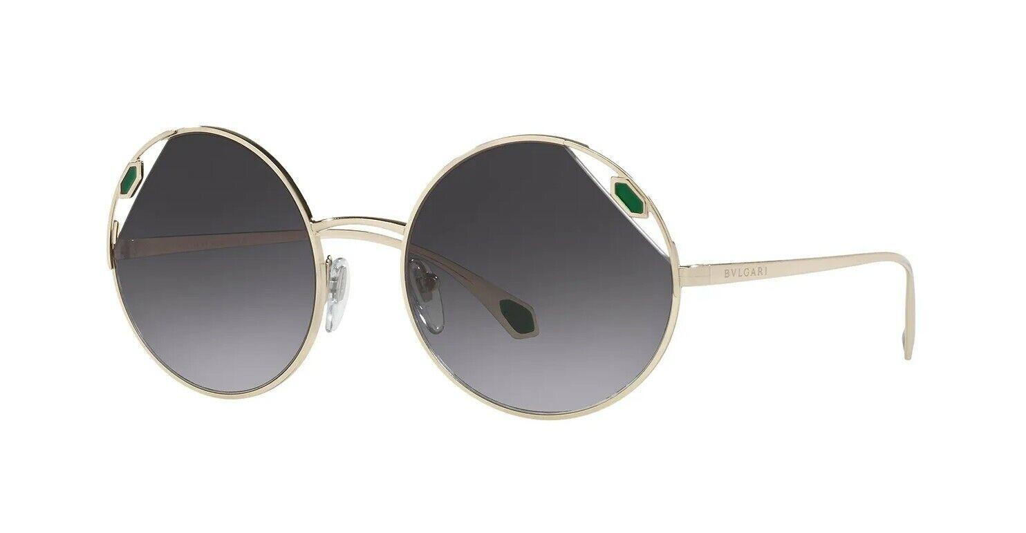 Bvlgari SERPENTI BV 6159 Pale Gold/Grey Shaded (278/8G) Sunglasses