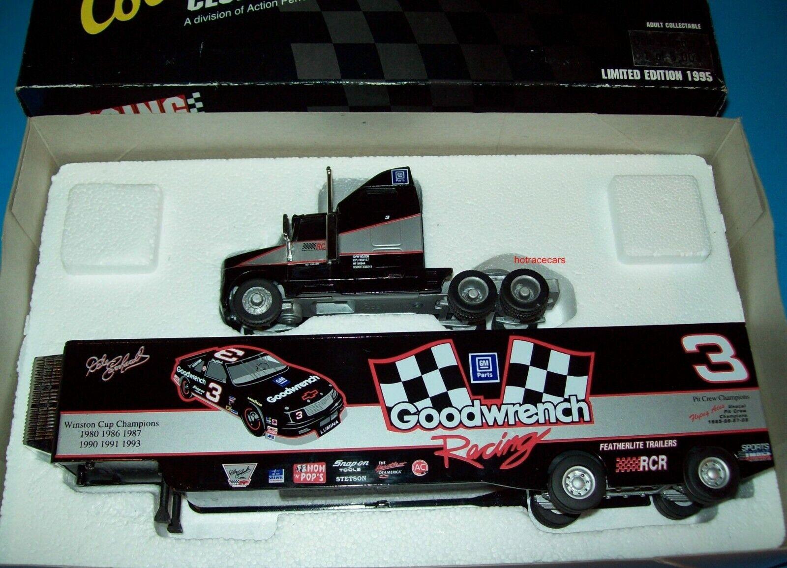 Dale Earnhardt 1994 Goodwrench  3 1 64 NASCAR Hauler Transporter Truck Trailer