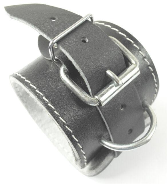 Senshi Japan Ankle Wrist Strap Genuine Leather Stretch Cable Machine Multi-Gym