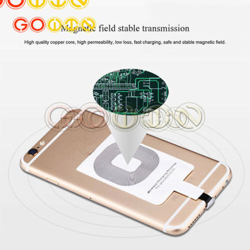 Fast Qi Wireless Charger Charging Dock Pad For Samsung S8 S7 iPhone X 8