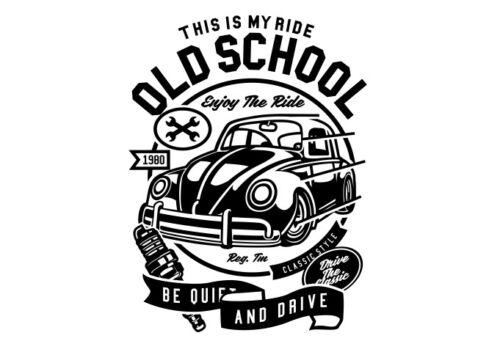 Esta es mi paseo Camiseta Vieja Escuela Escarabajo disfruta del paseo S-3XL
