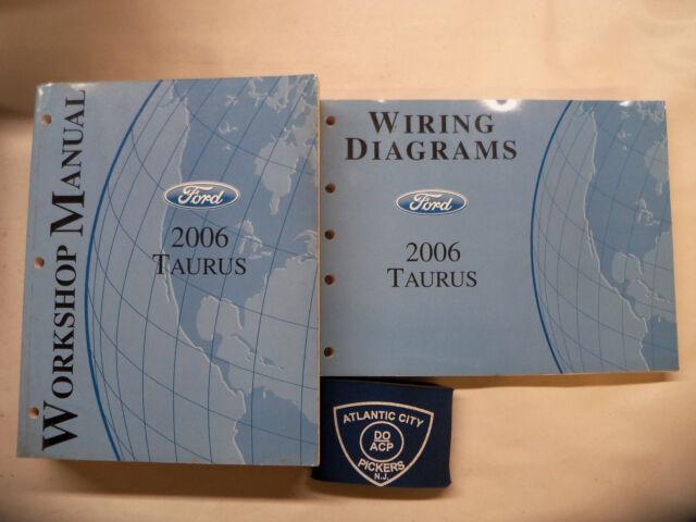 2006 Ford Taurus Service Shop Repair Manual  U0026 Wiring