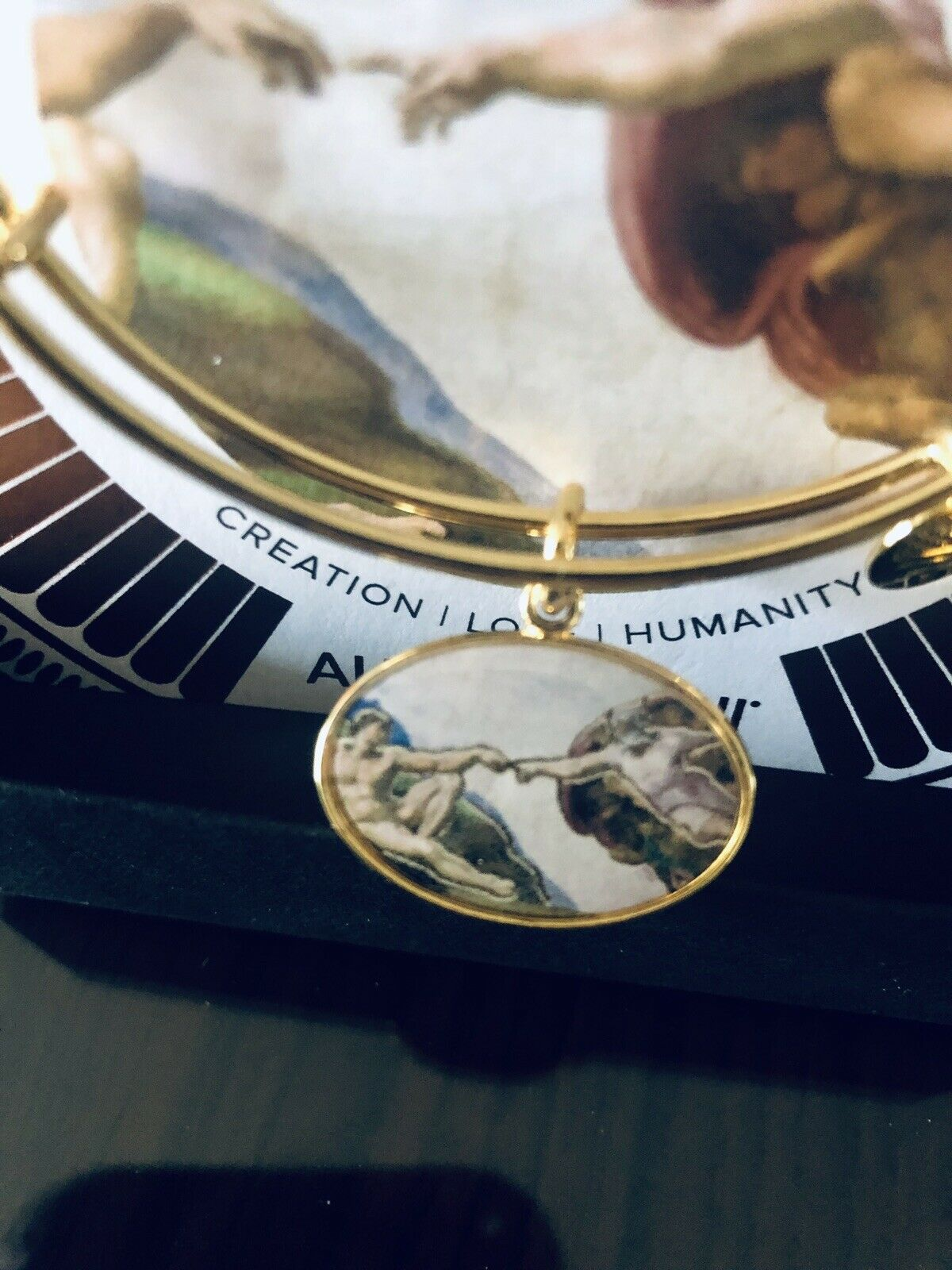 Alex And Ani Holy Ones Creation Of Adam Bracelet