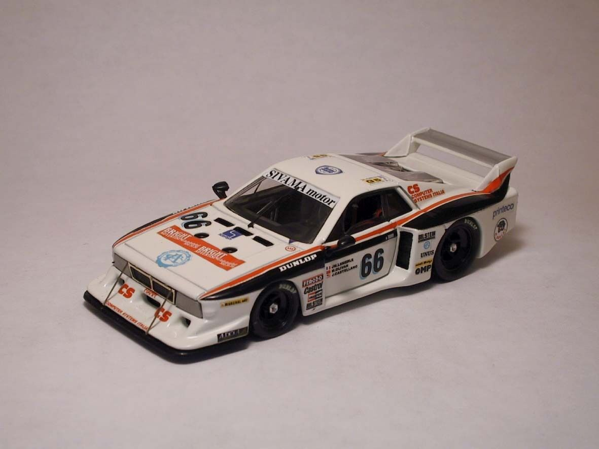 LANCIA BETA MONTECARLO  66 12th LM 1982 Lemerle Olivar Castellano 1 43 Model