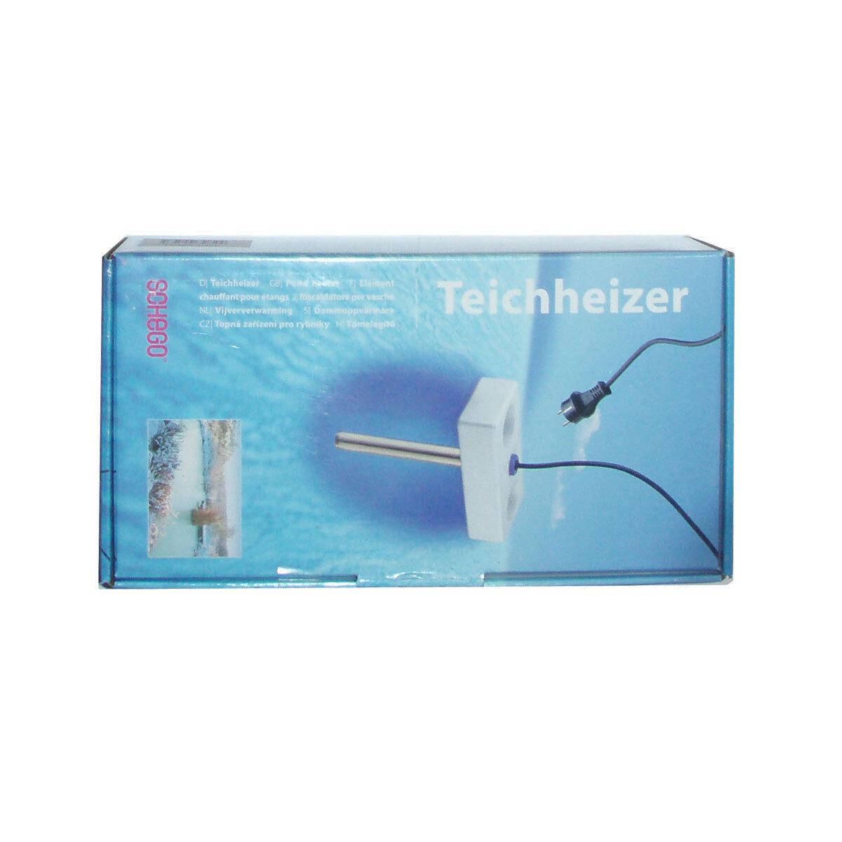 Schego-teichheizer 300 W-estanque calentador estanque calefacción invierno calefacción peces