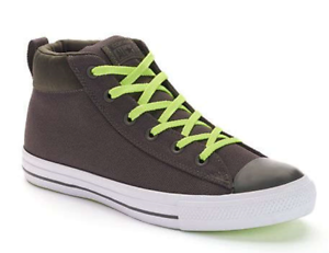 22980d7d4134 New Men Converse Chuck Taylor All Star Street Mid 153790C Shoes Size ...