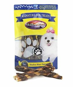 10-Pack-All-Natural-BullyWraps-Beef-Jerky-Wrapped-Bully-Sticks-by-Shadow-River