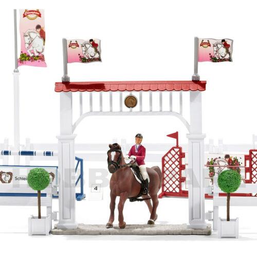 NEW SCHLEICH BIG HORSE SHOW EXPANDED TOURNAMENT SET 42338 EQUESTRIAN