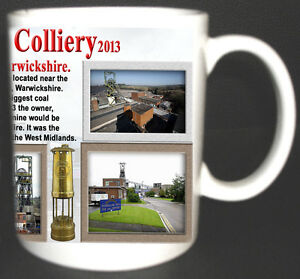 DAW-MILL-COLLIERY-COAL-MINE-MUG-LIMITED-EDITION-GIFT-MINERS-WARWICKSHIRE-PIT