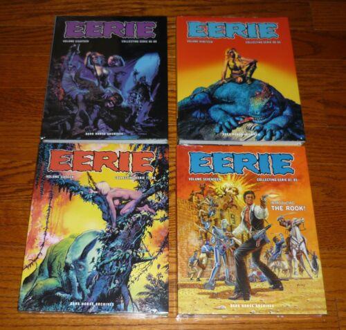 Warren Dark Horse SEALED hardcover books Eerie Archives Volumes 16,17,18,19