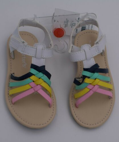 Carter/'s Girls Toddler Fashion Sandals Size 6 7 Multi