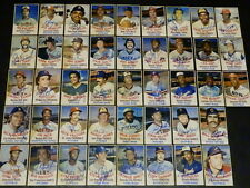 1977 Hostess Twinkies AUTOGRAPH BASEBALL Near Complete Set Signed Card HOF Auto