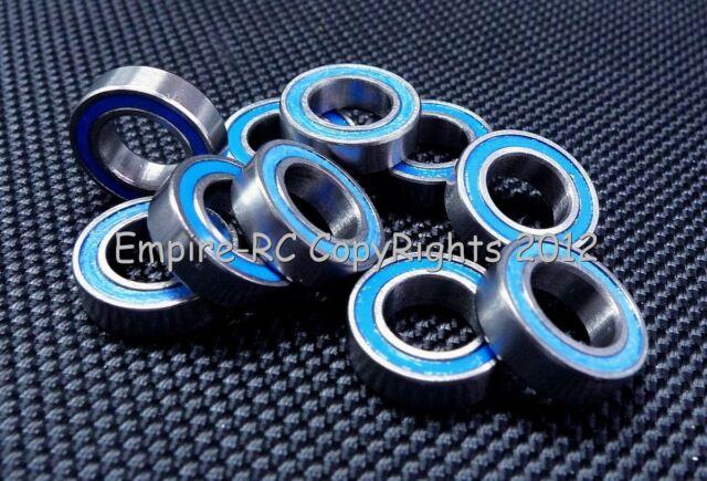 Tamiya 850 Rubber Sealed Ball Bearings BLACK 5x8x2.5 MR85-2RS 5*8*2.5 10 PCS