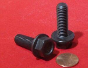 Flanged-Cap-Screw-Bolt-Steel-10-9-Metric-FT-M10-x-1-5-x-30-mm-Length-50-Pc