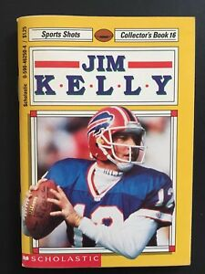 Jim-Kelly-Vintage-1992-Scholastic-Sports-Shots-Collector-039-s-Book-16