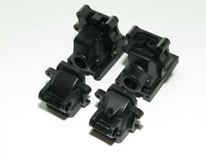 SER600059 SERPENT SRX8-T TRUGGY FRONT REAR DIFFERENTIAL CASES BULKHEADS