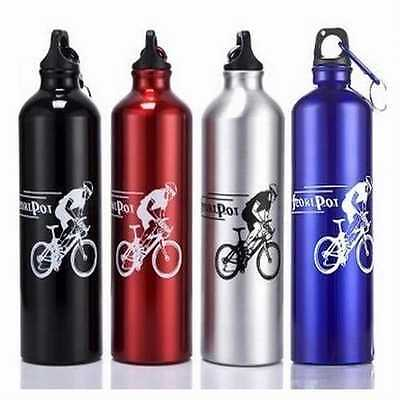 New Cycling Camping Bicycle Sports Aluminum Alloy Water Bottle 750ml Special