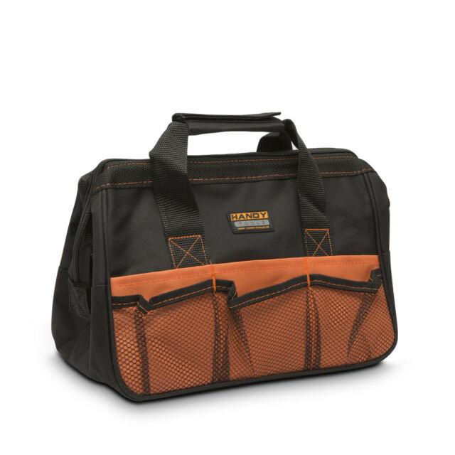 """10248 Handy 12"""" Small Toolbag Power Hand Tool Bag Case Electricians Plumbers"""