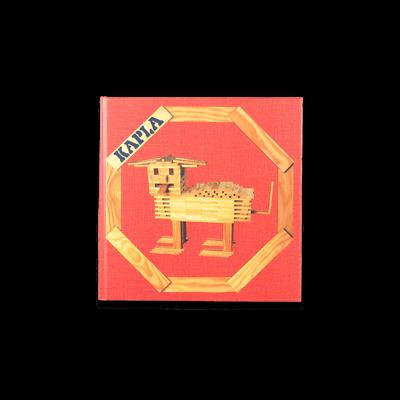 Disciplinato Kapla Libro Arte N.1, Rosso, Animali & Costruzioni Sconto Complessivo Della Vendita 50-70%