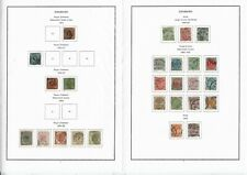 F943 Denmark 1850s 1960s collection hinged on 24leaves