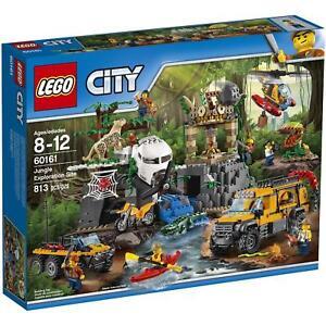 LEGO-City-60161-Jungle-Exploration-Site-NEW-FACTORY-SEALED