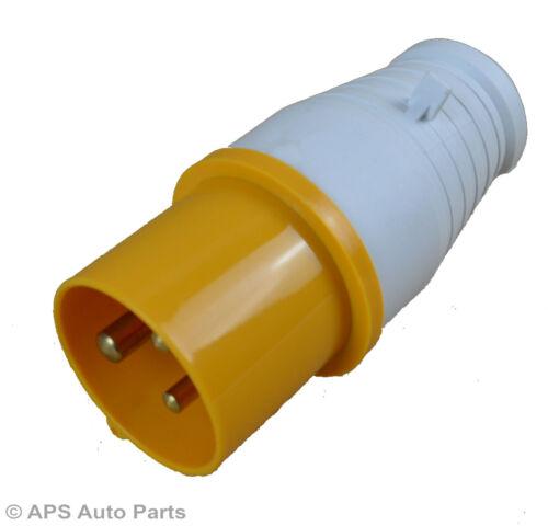 32 Amp 3 broches mâle en Ligne Plug Socket industrielle Camping IP44 110 V 130 V 32 A CE