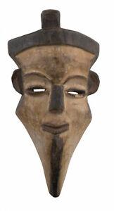 Masquette-Congo-Mascara-Rdc-Africana-Madera-20CM-Viaje-Arte-Diminutivo-16917