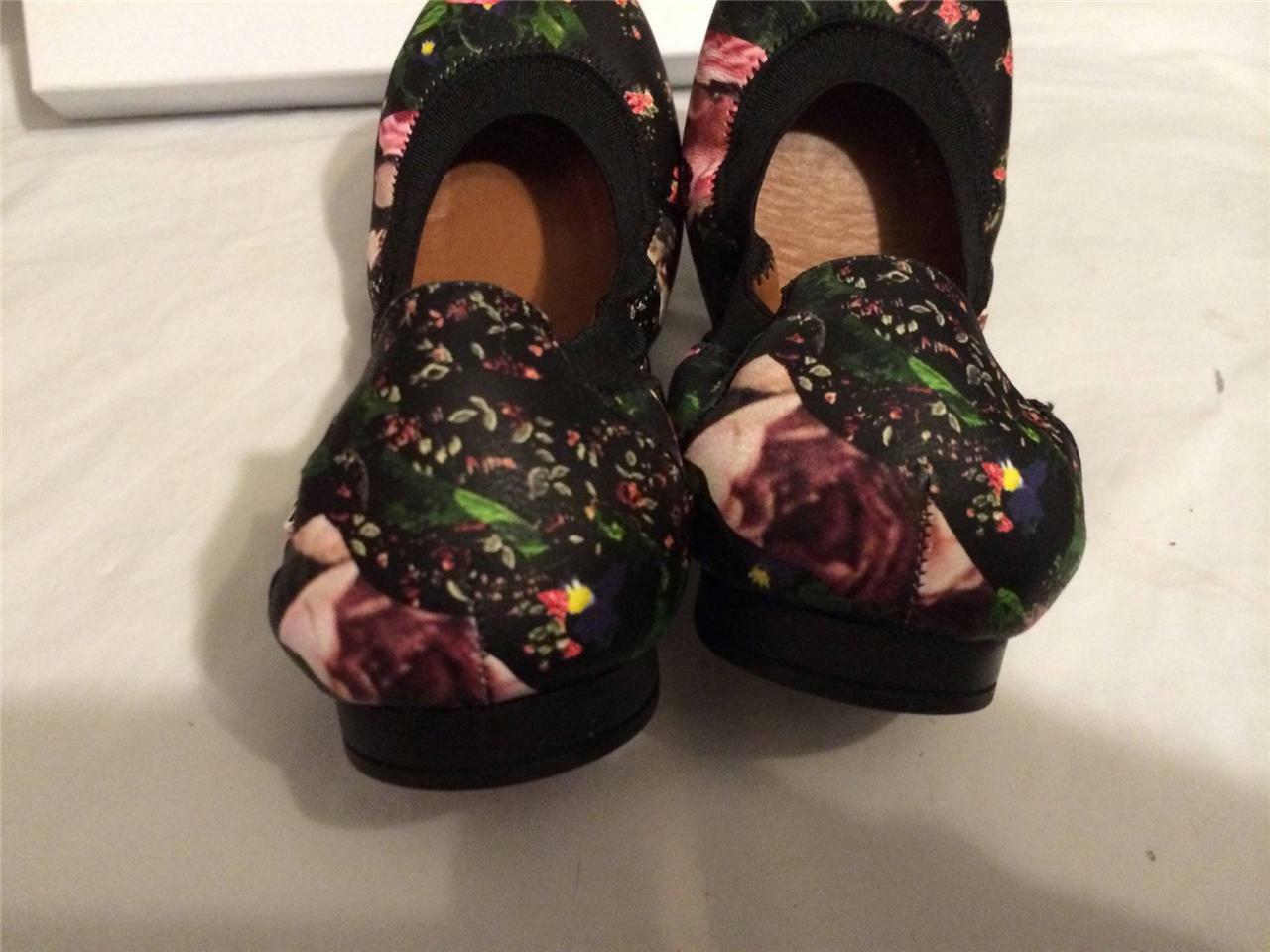 Givenchy Floral Flower pinks Camouflage Leather Ballerina Ballet Flat Flat Flat shoes  395 862ab4
