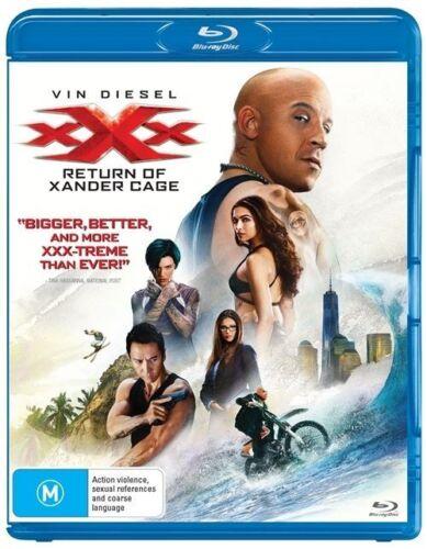 1 of 1 - XXX - Return Of Xander Cage (Blu-ray, 2017)