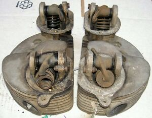 1953-59-AJS-Matchless-G9-500cc-pair-cylinder-heads-M