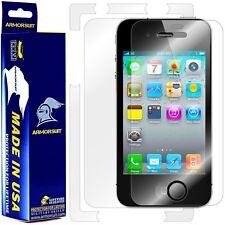 ArmorSuit MilitaryShield Apple iPhone 4S Screen Protector + Full Body Skin! New!