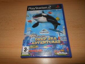shamu-039-s-Deep-Sea-Adventures-PS2-NUEVO-PRECINTADO-PLAYSTATION-2-PAL