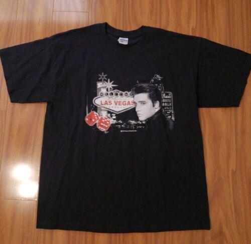 Elvis Las Vegas NV Tshirt Black XL Las Vegas Strip
