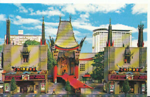 America-Postcard-Famous-Chinese-Theatre-Hollywood-California-596A