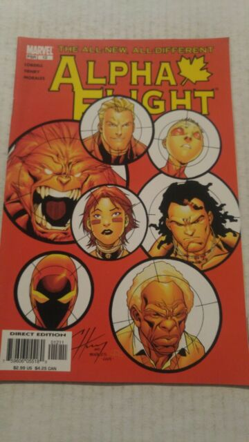 Alpha Flight #12 April 2005 Marvel Comics Lobdell Henry Morales