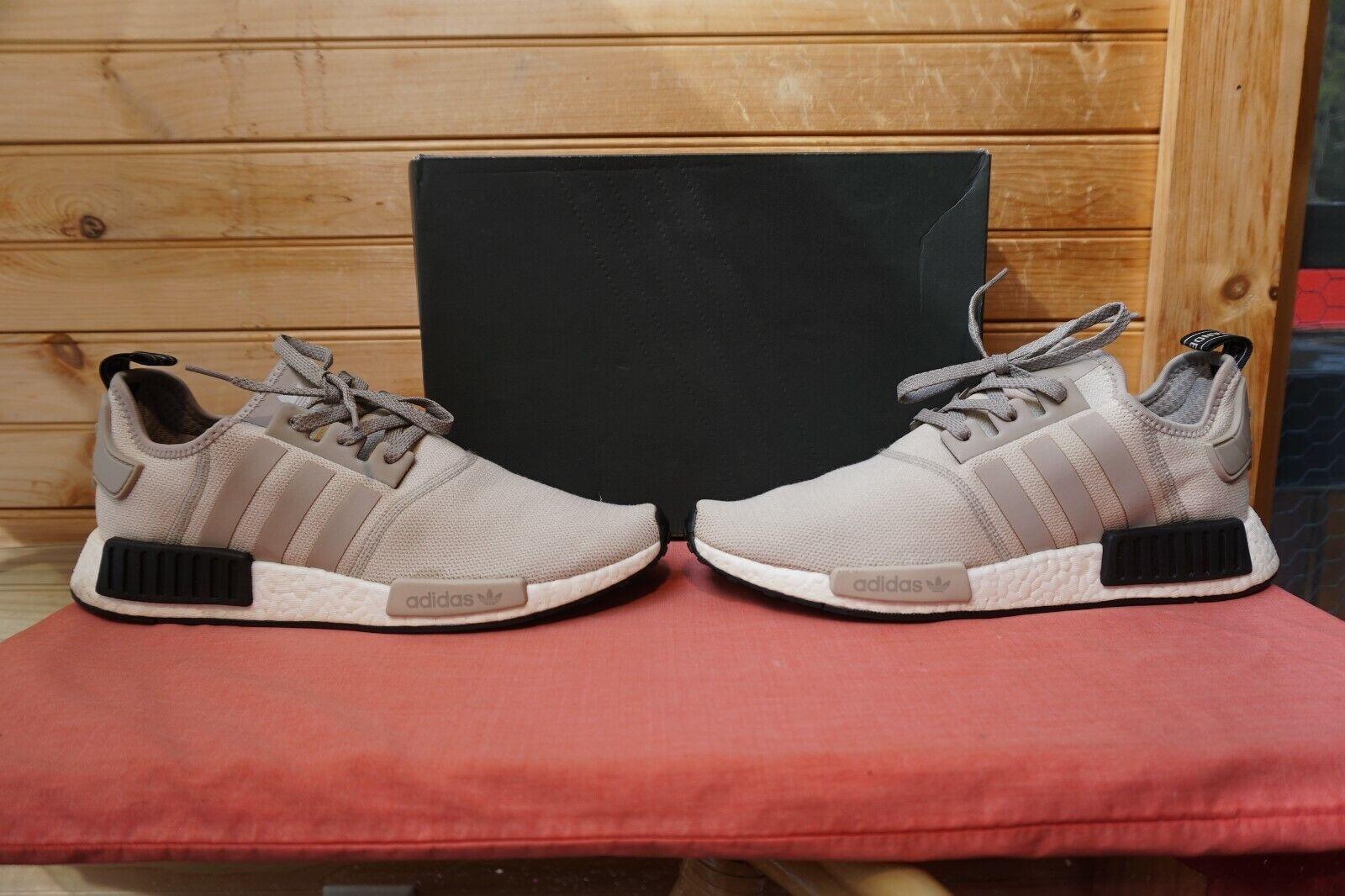 2016 Adidas NMD_R1  Cream White White White Core Black  Sz 11 (1287) S76848 a96e19