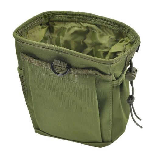MFH Airsoft MOLLE Military Ammo Dump Pouch Olive OD