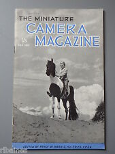 R&L Vintage Mag, The Miniature Camera September 1951, Kinax III/Contax S