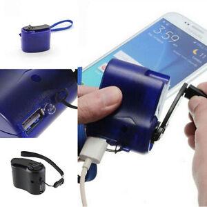 6ef5071267b La imagen se está cargando Viaje-USB-Emergencia-Telefono-MP3-Jugador- Cargador-Dynamo-