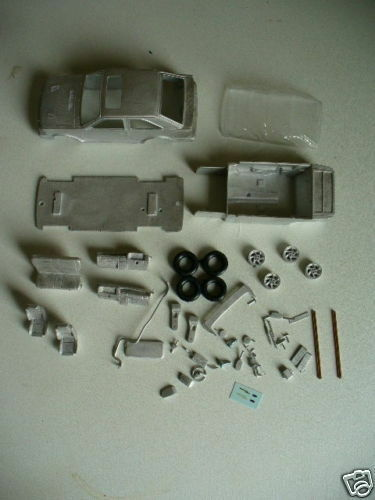 Ford Escort RS Turbo Series 2 1 43rd scale white metal kit  by K & R Replicas