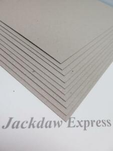 10-x-A3-Greyboard-Craft-Card-700mic-for-Backing-Mountboard-Crafts-JLH067