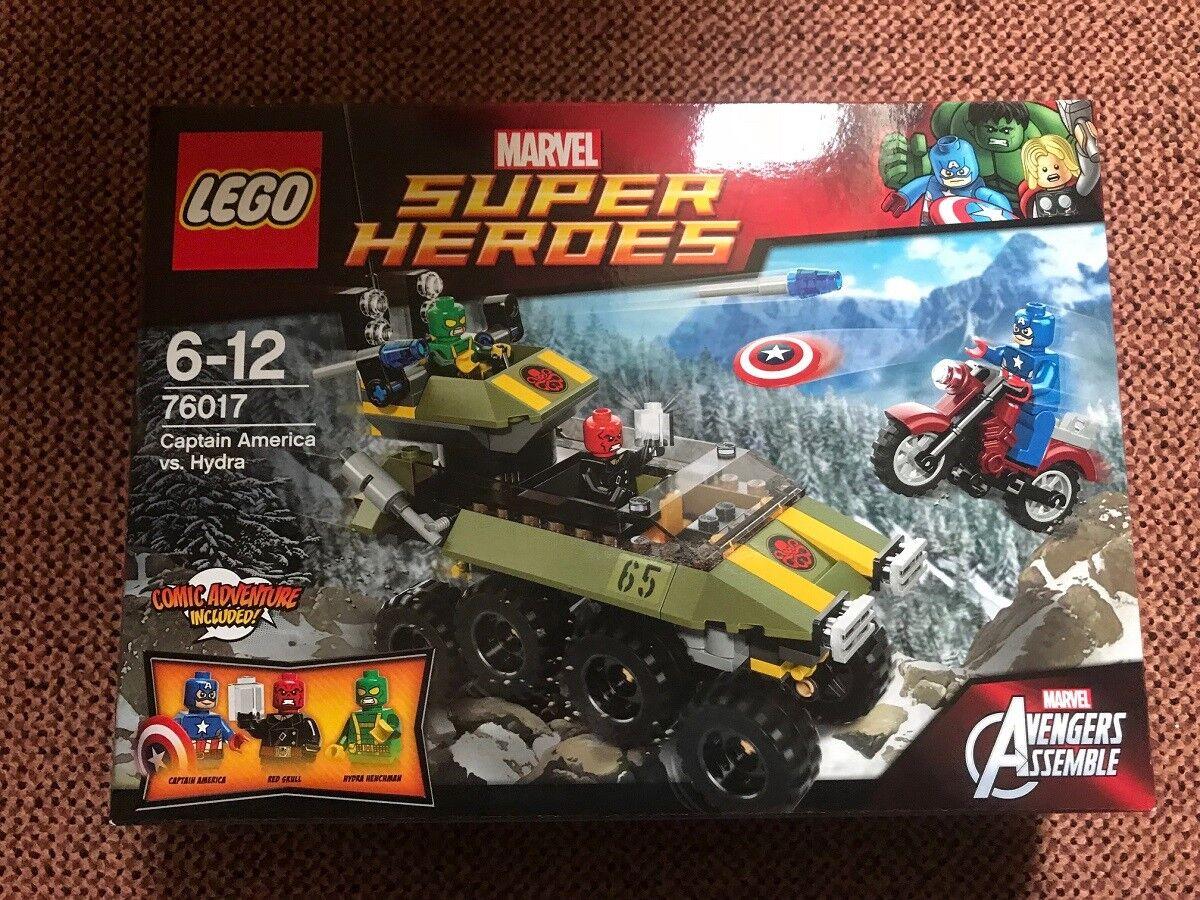 LEGO® 76017 - MARVEL SUPER HEROES Captain America vs. Hydra neu und ovp.