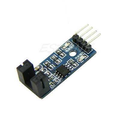Slot Type Optocoupler Module 3.3V-5V LM393 Comparator Slot-Type For Arduino New