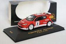 Ixo 1/43 - Peugeot 206 WRC Rallye Monte Carlo 2003 N°2