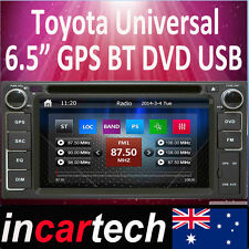 Toyota Corolla Rukus Yaris Landcruiser Prado Hiace GPS Head Unit Australian Map