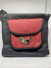 Red Rooster Bag Holds 1 Dozen Collectibles Bolsa Para Navajas Gallosgamefowl